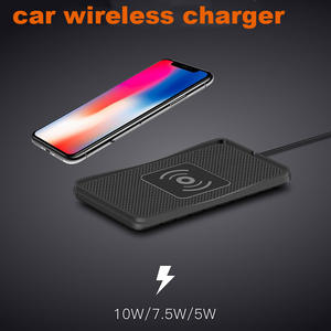 Car Fast-Phone-Charger QI Wireless-Charging-Pad Samsung S9 iPhone X Universal 8plus