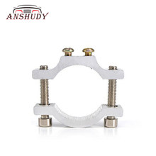 1 Set Motor LED Lampu Sepeda Lampu Klip Bracket Leading Pipa Clamp Garpu Depan Tube Clamp Klip Bumper(China)