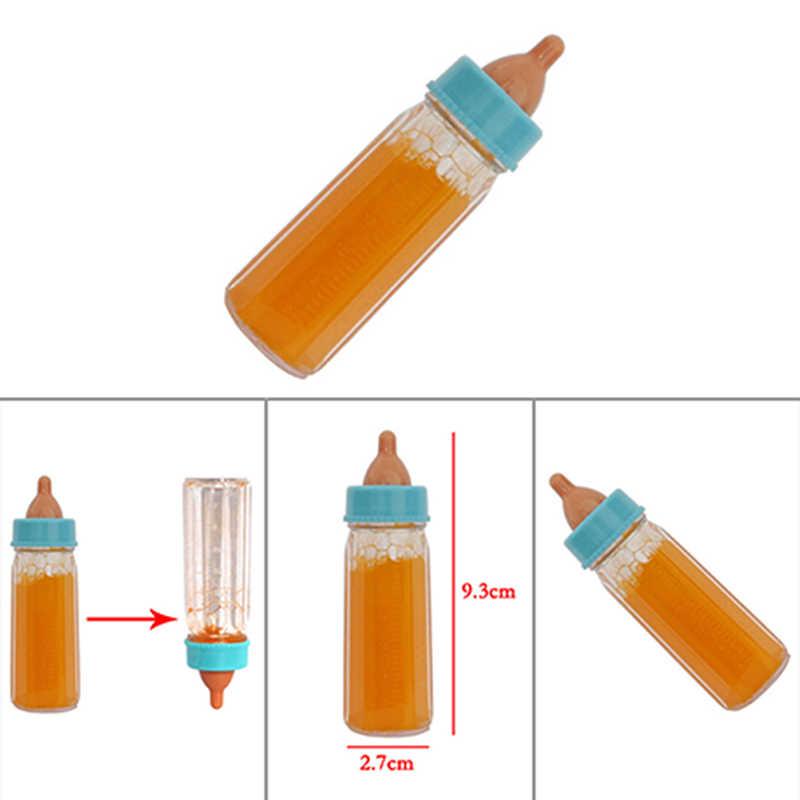 Bayi Ajaib Reborn Boneka Botol Makan Mainan Sihir Aneh Prop Botol Susu Cair Menghilang Susu Anak Hadiah Mainan Aksesoris