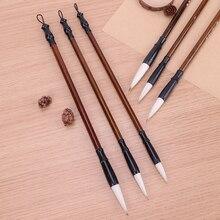 3 шт./компл. Одежда высшего качества Китайский кисти для каллиграфии ручка шерстяные и колонковая кисть рисующей щетки, подходит для студентов и школьников