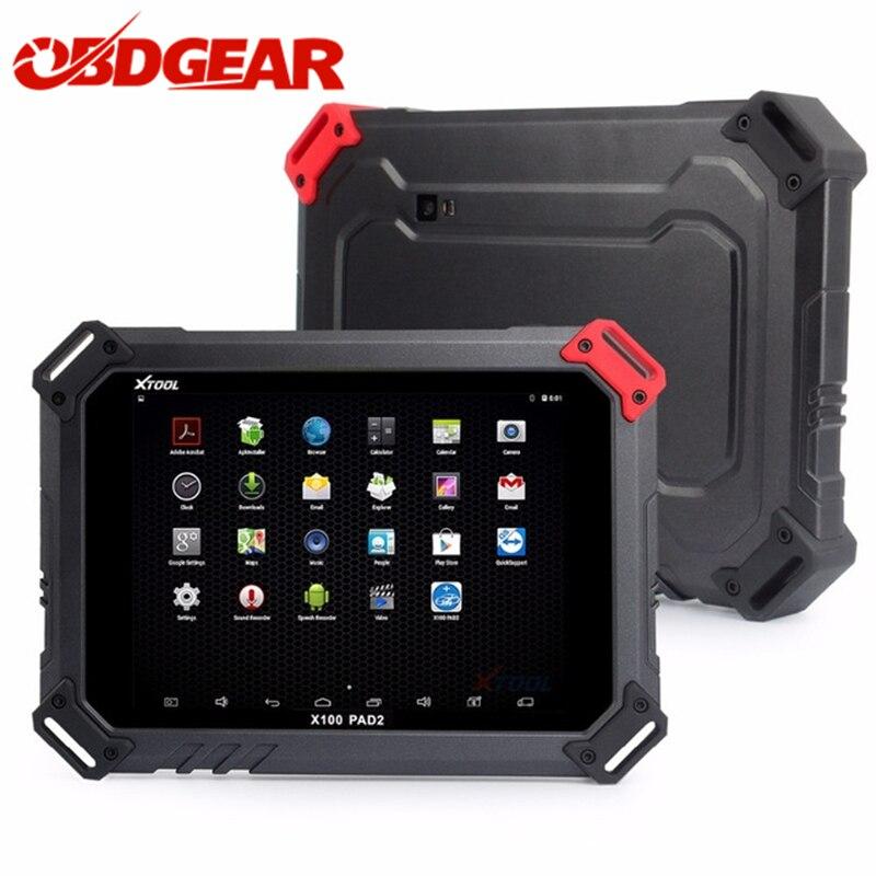купить Good Qulity XTOOL X100 PAD2 Auto Key Programmer With EPB EPS TPMS OBD2 Odometer X100 PAd 2 Pro Auto OBD Diagnostic Scanner