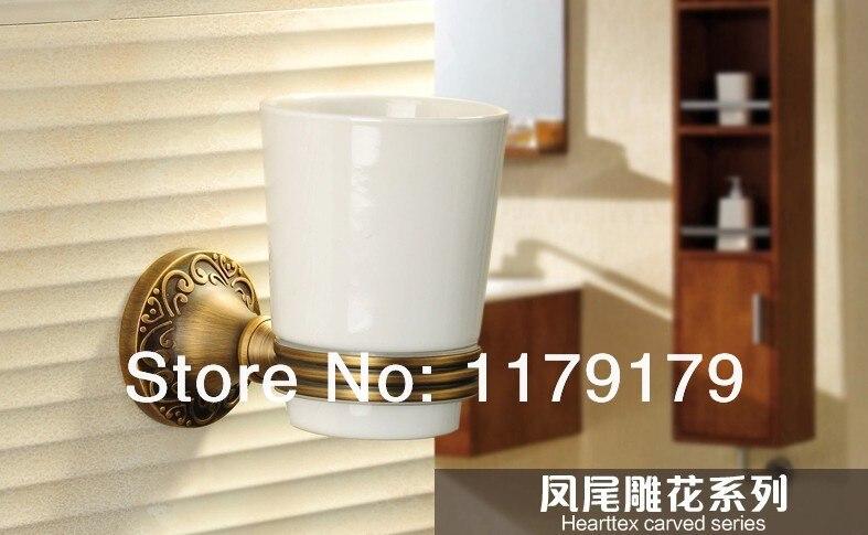 copper antique  bathroom cup & tumbler holder,single  toothbrush holder  bathroom accessories 774 2017 latest model rubber spray technology black single tumbler cup holder toothbrush holder bathroom accessory