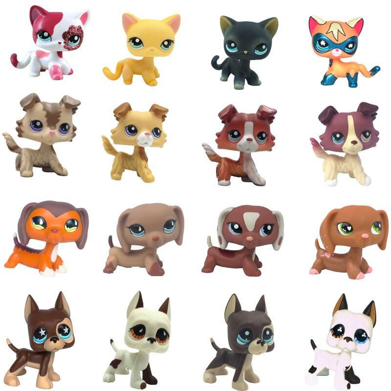 MOANA-LPS pet mağaza oyuncaqları Qısa Saçlı Pişik Qırmızı - Oyuncaq fiqurlar