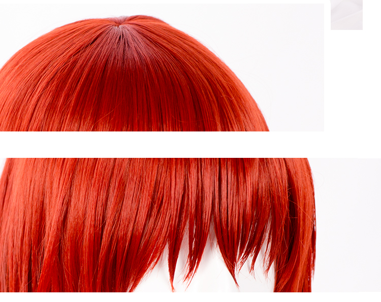 Image 4 - Mahoutsukai no Yome Hatori Chise Short Orange Red Heat Resistant Cosplay Costume Wig + Track + Cap-in Anime Costumes from Novelty & Special Use