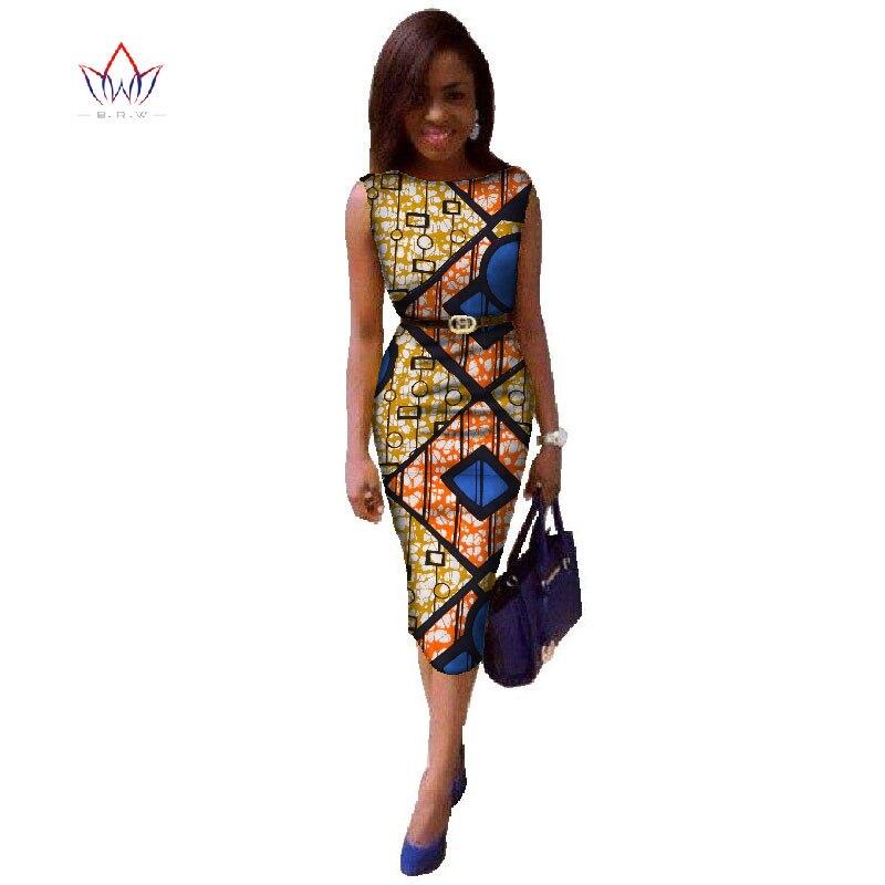 Brw 2017 Africa Dresses For Women Dashiki Plus Size African Print