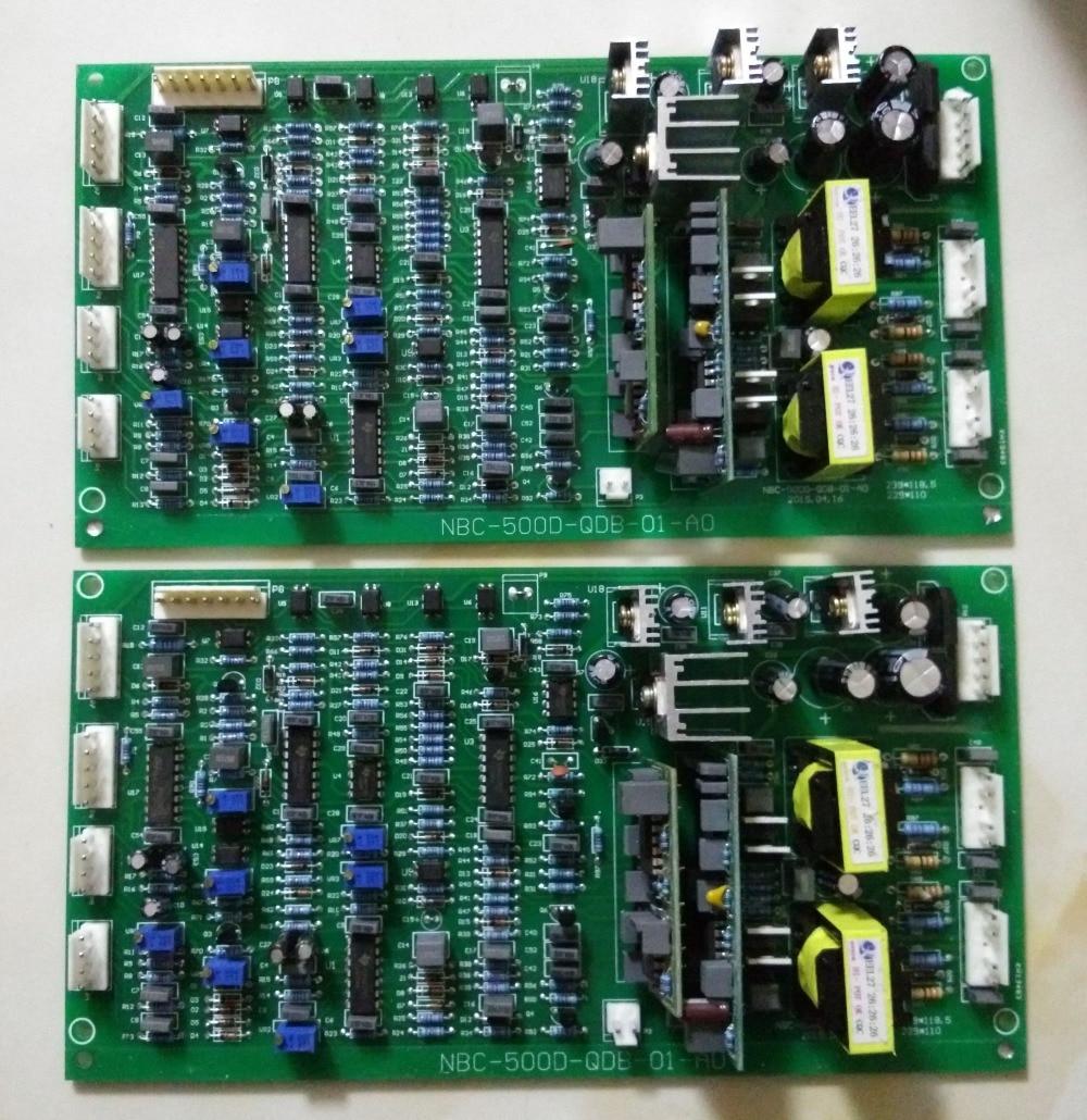 Az NBC350 / 500 IGBT fő vezérlő meghajtó panel lapja vezérli a - Hegesztő felszerelések - Fénykép 5