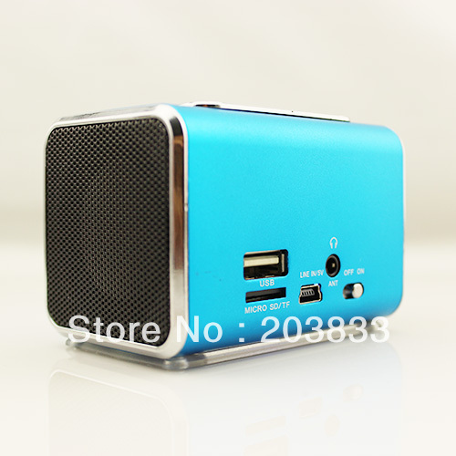 Free shipping + New Music  Player with screen, digital Speaker& computer speaker