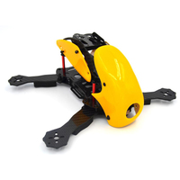 Robocat 270 270mm FPV drone Mini 4 Axis Full Carbon Fiber Racing Mini Quadcopter Frame with Hood Cover black for RC plane