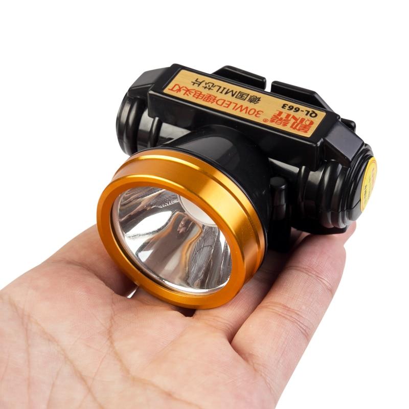 Malibu Landscape Lights Flashing: LED Headlamp Outdoor Lighting Stepless Dimming Headlight
