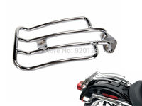 Motorcycle parts For Harley Davidson Sportster XL883 1200 2004 2015 Solo Seat Luggage Rack Chrome
