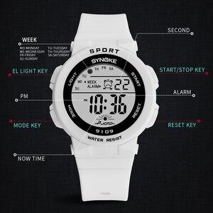 Image 4 - PANARS mode dames montres garçons filles étudiants numérique sport femmes montre 50m étanche montre bracelet alarme Relogio Feminino