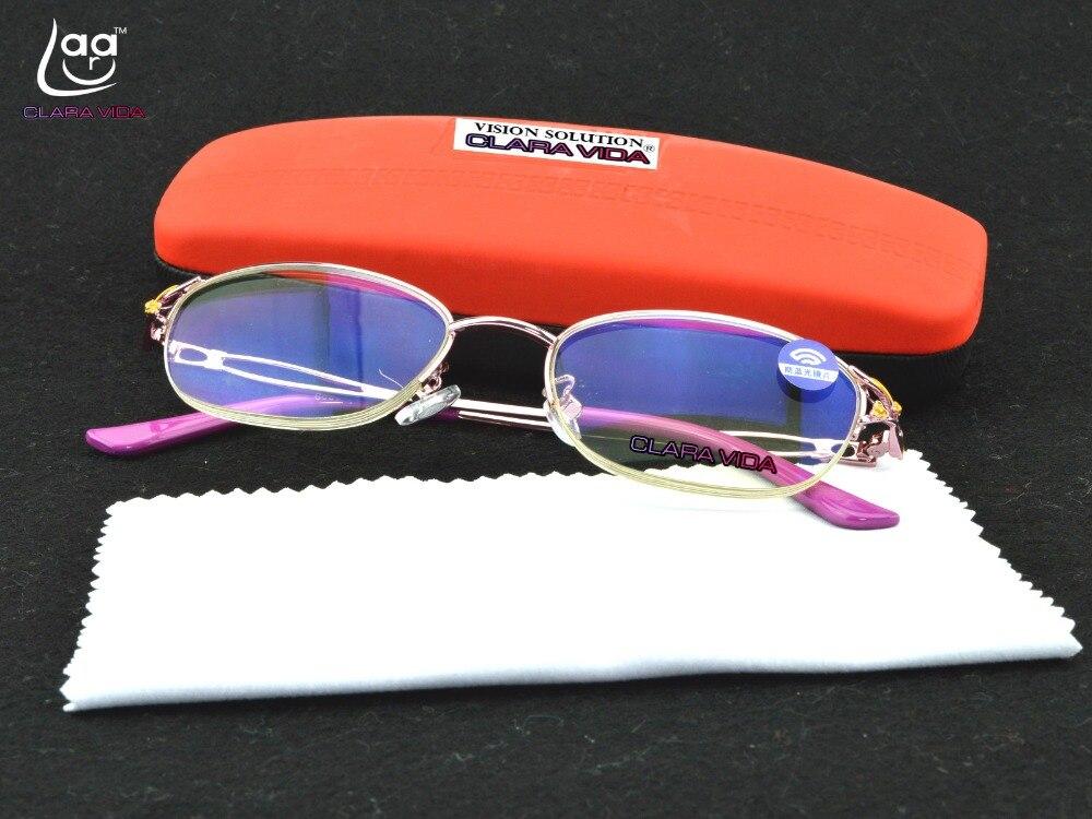 772ddca1a3 Floral de ojo de gato gafas de lectura con dioptrías de las mujeres gafas  grado Eyeglasse