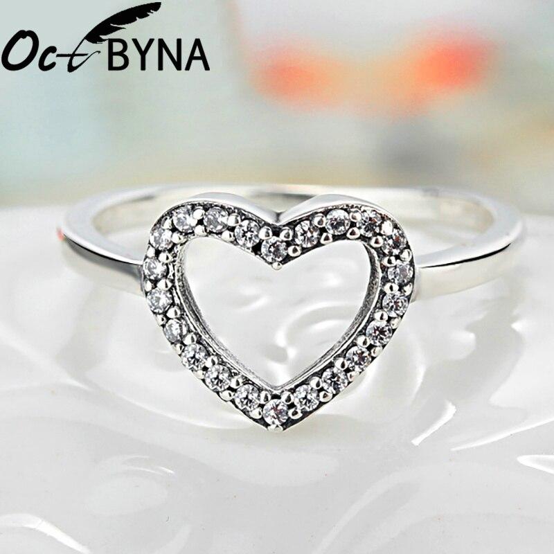 Octbyna Горячая Корона и в форме сердца стильные брендовые кольца для женщин вечерние кольца на палец для женщин очаровательные подарочные украшения Прямая поставка