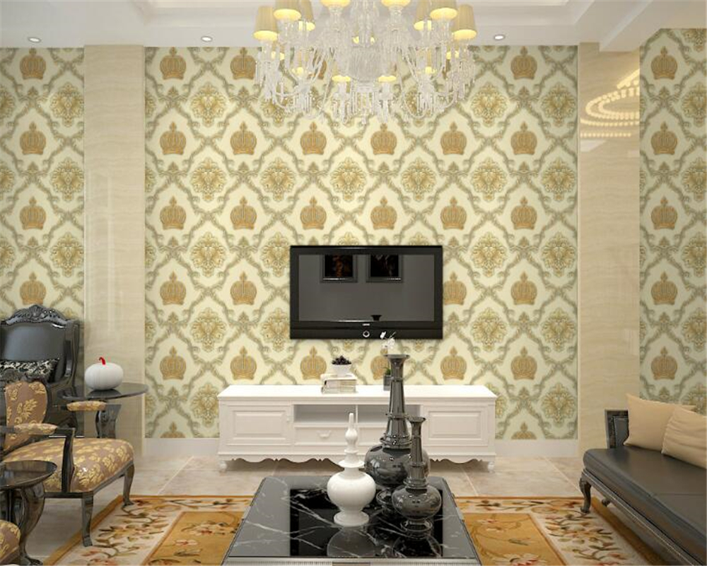 Papel Salon Us 34 65 39 Off Beibehang Luxury Classic 3d Wallpaper Hotel Clothing Store Restaurant Beauty Salon Clubhouse Simple Papel De Parede Wall Paper In