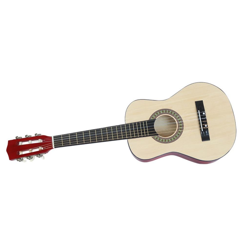30 Inch Classical Wood Guitar 30 inch Guitar Beginner Muzică - Materiale școlare și educaționale - Fotografie 2