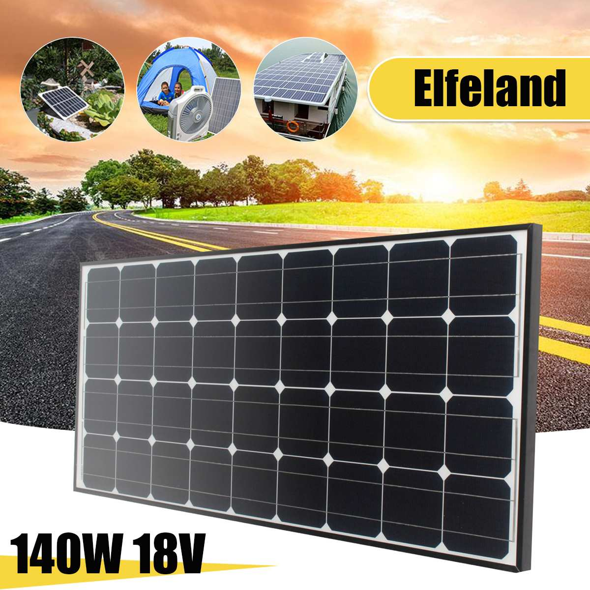Монокристаллические силиконовые солнечные панели серебристого и черного цвета автомобильные аккумуляторы RV, лодка корабль летательные ап