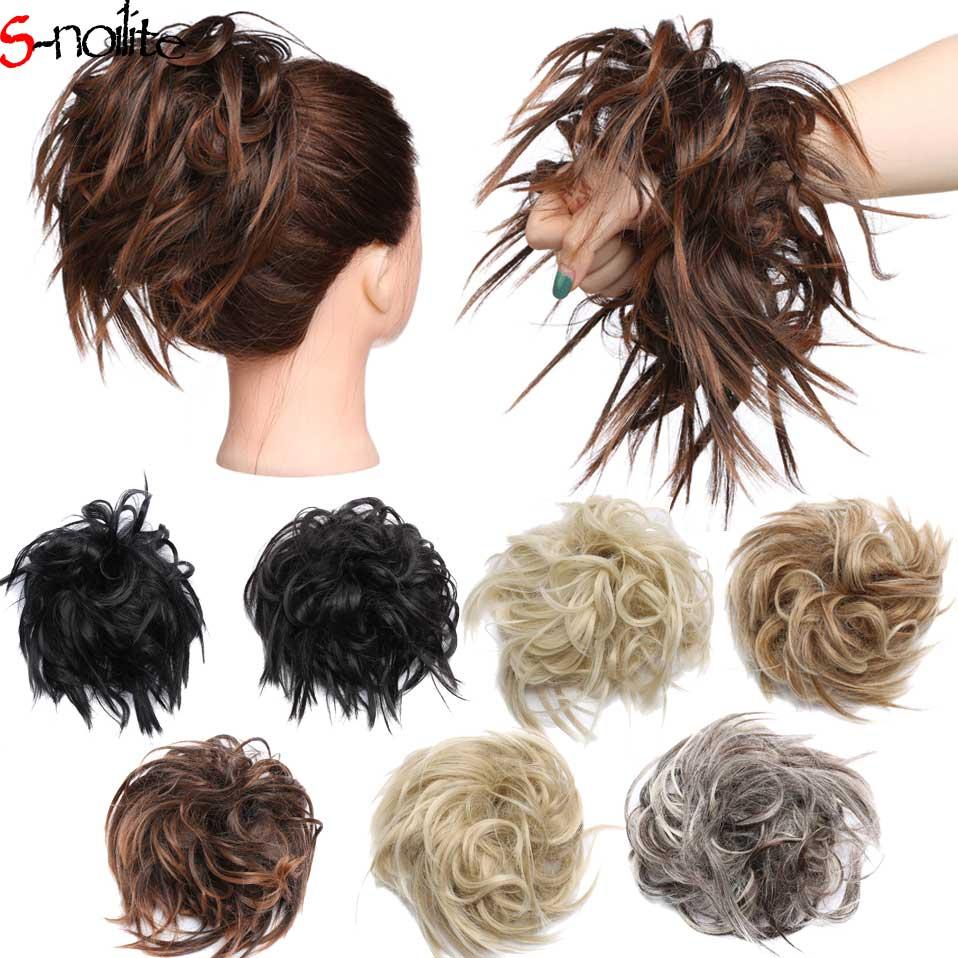 Bun Hairpieces For Black Women