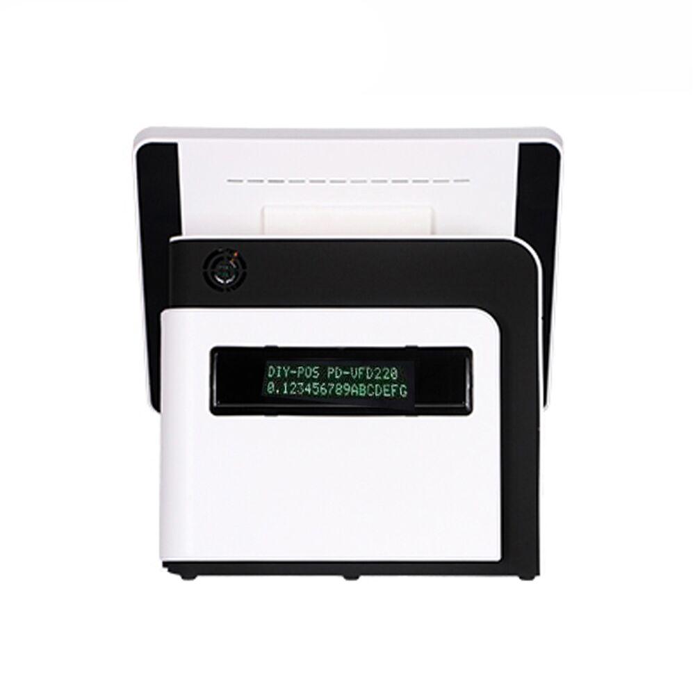 Günstige 15 zoll lcd kassen pos system alle in einem pc pos gerät touchscreen pos maschine - 2