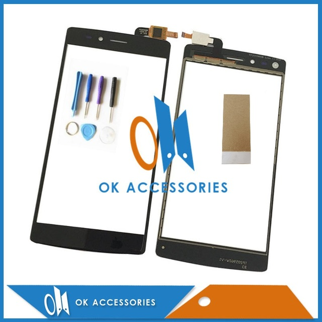 High Quality Black Color For Vernee Apollo Lite Touch Digitizer Screen Assembly With Tools & Adhseive Tape 1PC/Lot .