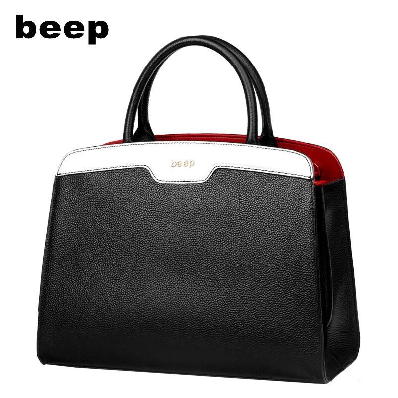 BEEP high-quality fashion brand new 2017 portable leather shoulder bag counter genuine, women's well-known brands 2016 best quality portable mini cheap video full hd 3d led dlp laser projector with low cost best for home school