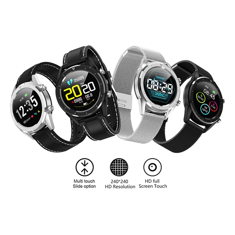 מיכל אסלה חרסה DT 28 גברים חכמים שעונים fashion1.54 אינץ מסך מגע Heart Rate Monitor שלב הרוזן בישיבה תזכורת Waterproof ספורט Smartwatch (4)