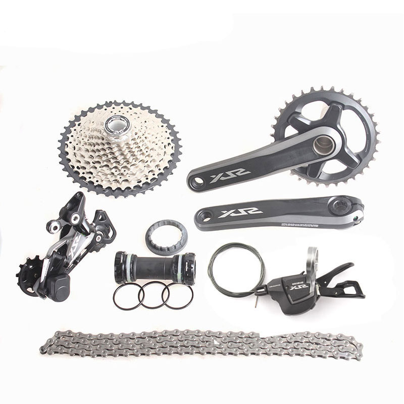 SHIMANO SLX M7000 Groupset 1x11 11S Speed 11-42T 11-46T M7000 MTB Bike Shift Lever/ Rear Dearilleur/ Cassette/Chain/Cranset/ shimano slx m7000 groupset 1x11 11s speed 11 42t 11 46t m7000 mtb bike shift lever rear dearilleur cassette chain cranset