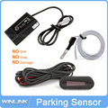 FreeShipping 2014 New Car Reverse Backup LED Electromagnetic parking Sensor System Led Display Buzzer No Hole Need to be Drilled