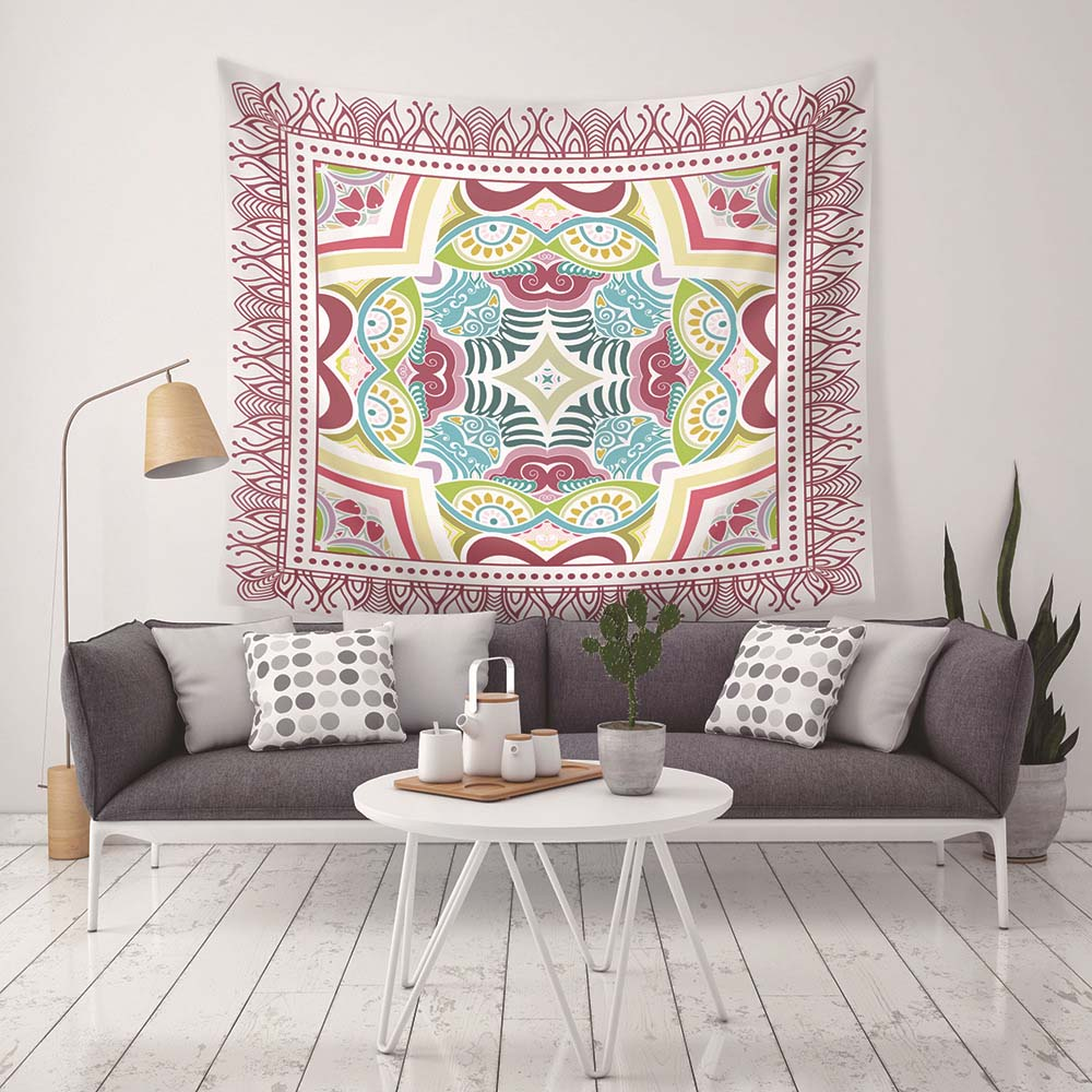New Style Mandala Tapestry Wall Hanging Tapestries Bohemian Beach Towel  tablecloth blanket Yoga Mat Bedding Home Decor G-078