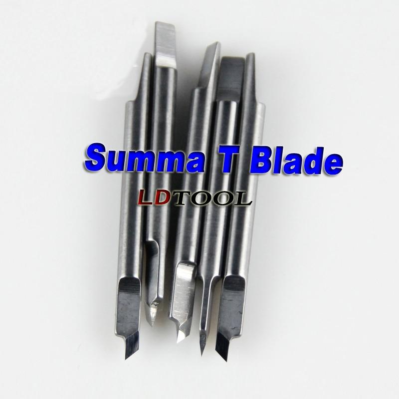 5pcs 45deg Blade Summa T Vinyl Cutter Plotter Free Shipping 1 cutting blade holder for graphtec cb09 silhouette cameo holder 15pcs blades vinyl cutter plotter 30 degree free shipping