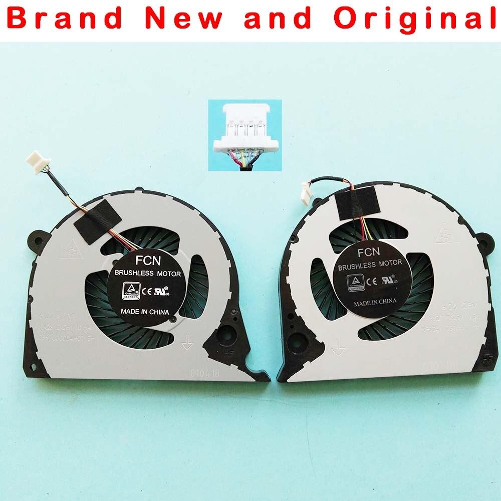 Novo original cpu gpu ventilador de refrigeração para dell inspiron g7 15-7000 7577 7588 G5-5587 p72f ventilador refrigerador 2 jjcp dc5v 0.5a