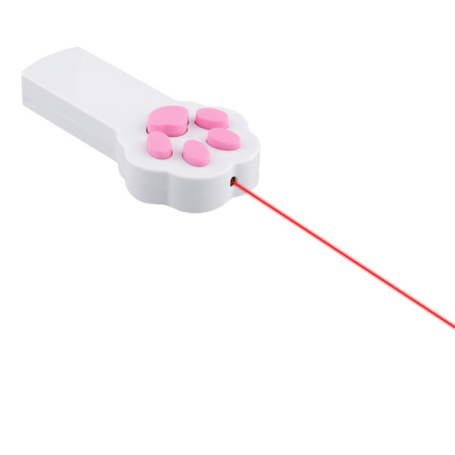 New Funny Pet Cat Dog Interactive Automatic Red Laser Pointer Exercise Toy