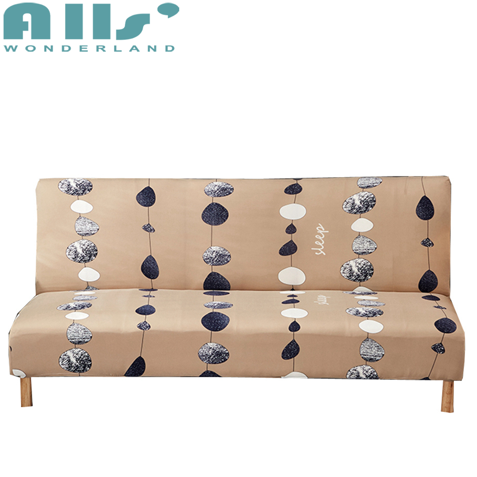 Sofa Bed Buy Us 43 Aliexpress Buy Light Tan Stretch Sofa Bed Covers For Living Room Home Decor Armless Couch Sofa Bed Covers Anti Dirty Slipcovers For