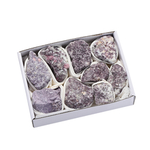 New Arrive 800-1050g Lithium Mica Material Mineral Stone Gray Purple Color Crystal Rough Crafts Gift For Collection
