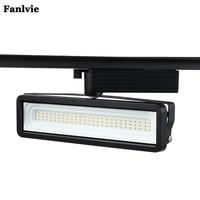 Fanlive 10PCS COB 50W High Power LED T Track Aluminum Lamp Modern Spotlight Rails Spot