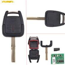 Keyecu Remote Key 3 Taste 433 MHz + New Remote & Transponder ID40 für Vauxhall Opel Vectra Zafira teil #24424728