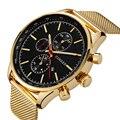 2017 curren nuevo cuarzo de oro relojes de los hombres de primeras marcas de lujo relojes de oro reloj masculino del relogio masculino reloj de cuarzo 8227