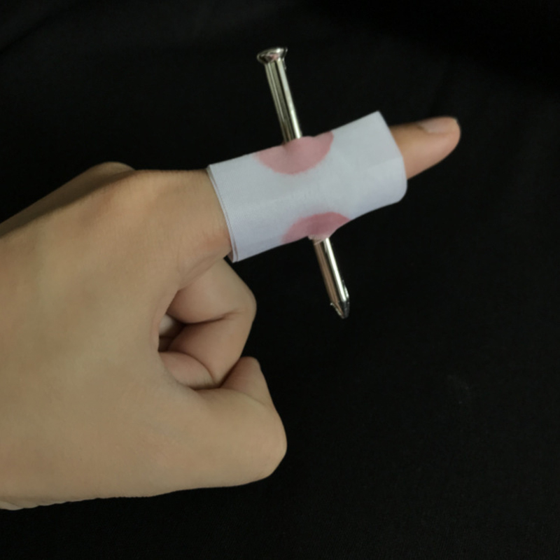 Halloween Funny Props Finger Wear Nail Telling Stories Action Figure Toy Fake Blood Novelty