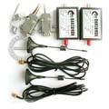 4000 м беспроводной последовательный модуль 4 км Беспроводной TTL RS232 RS485 беспроводной модуль последовательной связи