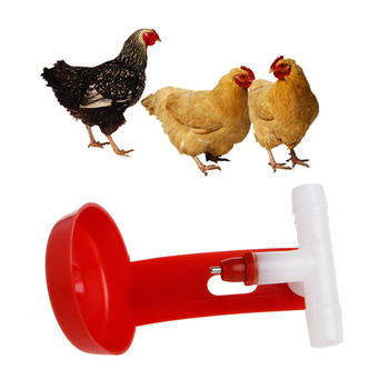 Plastic Poultry Water Drinking Cups Plastic Hanging Chicken Hen Automatic Fowl Drinker Backyard Poultry Supplies