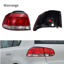 MIZIAUTO Car Outer Tail Light For VW Golf Mk6 6 Hatchback 2009-2013 Taillights Replacement Rear Reverse Driving Side Lamp