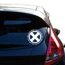 Xaviers Schule inspiriert X-Men Vinyl Aufkleber