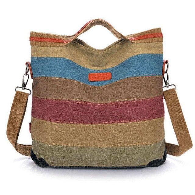 2015 nova tarja Mulheres bolsa de ombro bolsa saco do mensageiro das mulheres do vintage bolsa de lona das mulheres bolsas patchwork mulheres bolsa W171