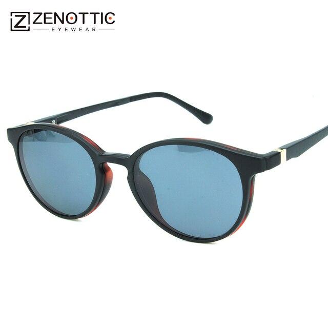 14fd882cbb Women Polarized Round Magnetic Clip On Prespcription Sunglasses Flexible  Ultem Driving Sun Glasses Oculos De Sol Feminino BT6201