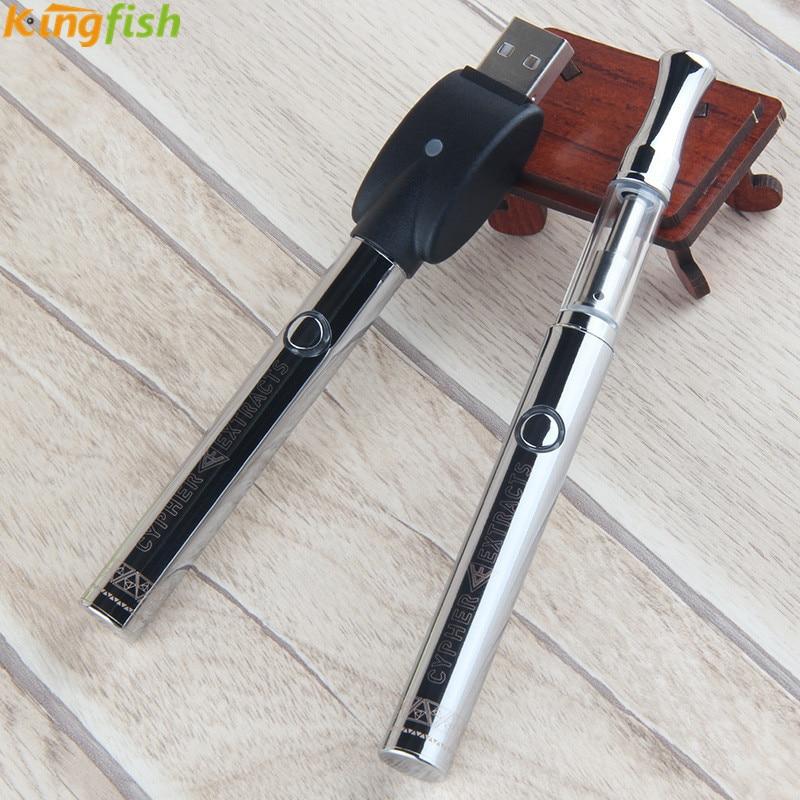 Kingfish Mini E-Cigarette Kit Ceramic core Vape Pen Electronic Cigarette CBD Vaporizer E-Cig Hookah vs kamry Micro Vapor Cig