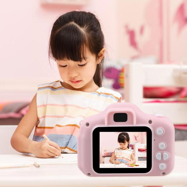 Children Mini Camera Kids Educational Toys for Children Baby Gifts Birthday Gift Digital Camera 1080P Projection Video Camera 4