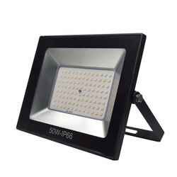 Ultracienki LED światło halogenowe 10 W 30 W 50 W AC220V IP67 5630SMD reflektor lampa reflektor 100 W na zewnątrz ściany ogród oświetlenie krajobrazu