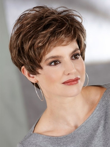 Beauty Short Wigs For Fashion Women Synthetic Hair with Good Quality Free Shipping