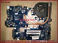 ДЛЯ ACER 5552G 5551 Г Ноутбук материнская плата LA-5912P + радиатор = вместо LA-5911P материнская плата DDR3 Отличном Рабочем