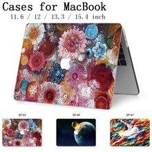 Hot nouveau pour ordinateur portable MacBook Case housse housse tablette sacs pour MacBook Air Pro Retina 11 12 13 15 13.3 15.4 pouces Torba