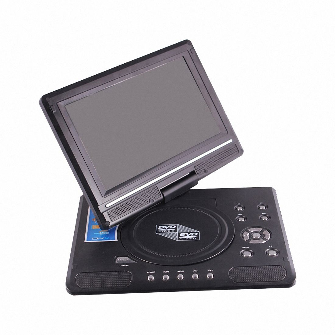 9.8-inch Portable Mobile DVD with HD Mini TV Player9.8-inch Portable Mobile DVD with HD Mini TV Player